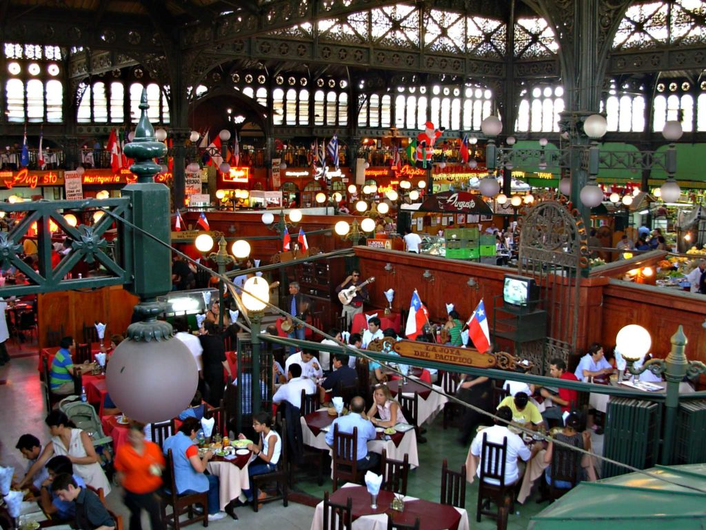Mercado Central Santiago do Chile - Ponto Turístico