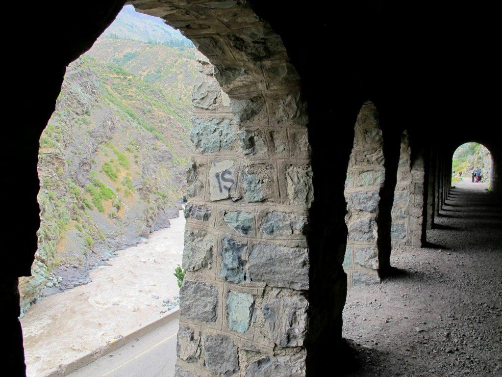 Tunel Tinoco Cajon del Maipo